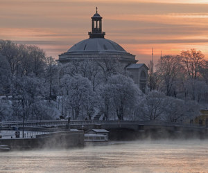 snow, sweden, and winter image