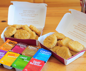 food, yum, and nuggets image