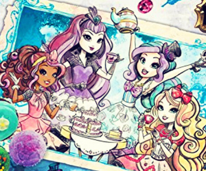fairytale, tea time, and ever after high image