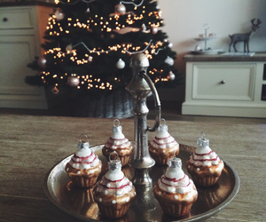 christmas, cupcakes, and december image