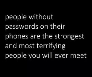 phone, password, and people image
