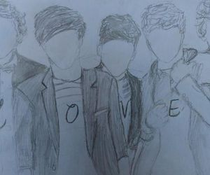 drawing, 1d, and liam payne image