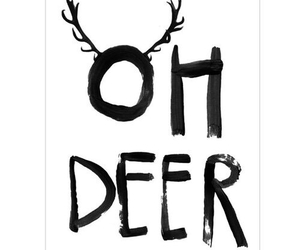 deer, christmas, and quote image