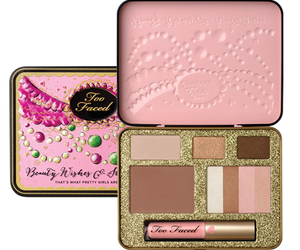 amazing, too faced cosmetics, and christmas collection yay image