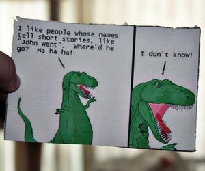 funny, dinosaur, and lol image