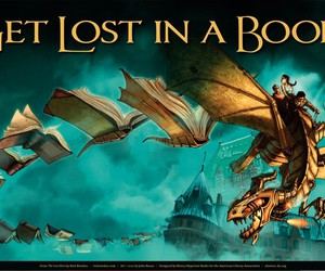 book, the lost hero, and heroes of olympus image