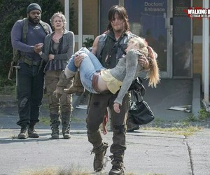 daryl dixon, beth, and thewalkingdead image