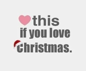 christmas, love, and heart image