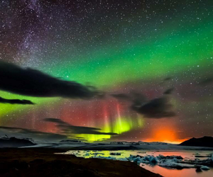 aurora, beauty, and earth image
