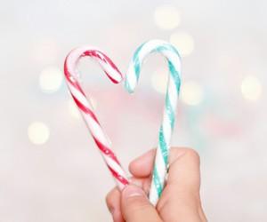 candy, food, and christmas image