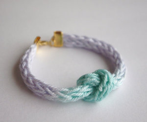 blue, knot, and ombre image