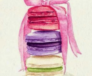 colorful, Cookies, and macaroons image