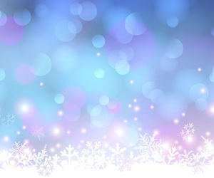 background, blue, and snowflakes image