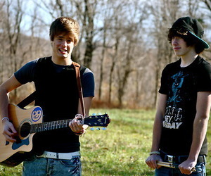 boy, cute, and guitar image