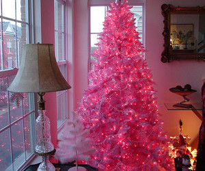 christmas, christmas tree, and decor image