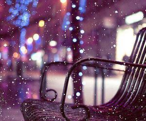 snow, winter, and christmas image