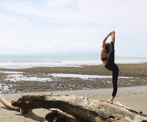 fitness, beach, and girl image