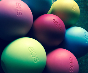 colour, eos, and lipbalm image
