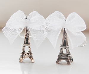 paris, eiffel tower, and bow image