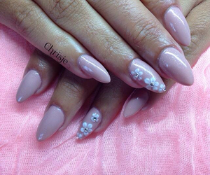 3d, stiletto's, and nailcare image