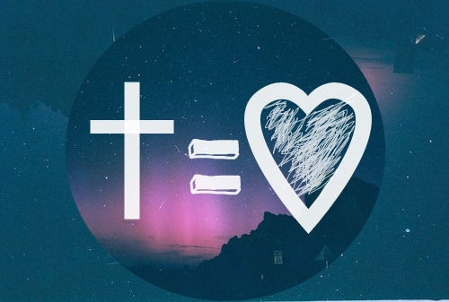 love, god, and jesus image