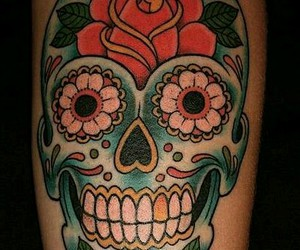 calaveras, color, and photography image