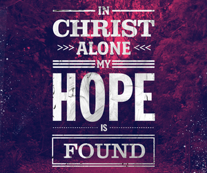 hope, Christ, and jesus image