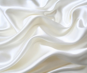white, silk, and fabric image