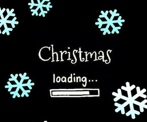christmas, loading, and snow image