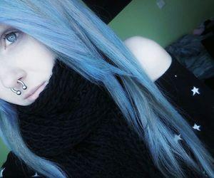 blue hair and sarah sorceress image