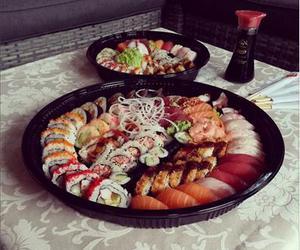 food, mmmm, and sushi image