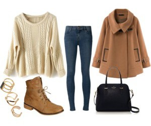 boots, clothes, and fall image