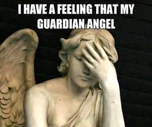 funny, guardian angel, and true image
