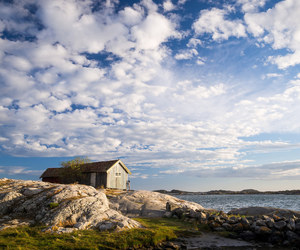 clouds, sky, and sweden image