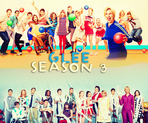 glee and season 3 image