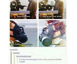 david tennant, doctor who, and funny image
