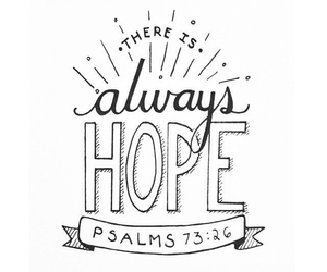 bible, hope, and psalms image