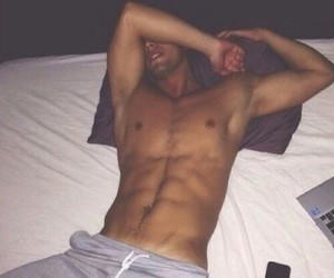 abs, guy, and Hot image