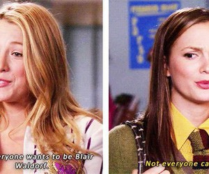 blair waldorf, blake lively, and funny image