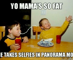 funny, fat, and joke image