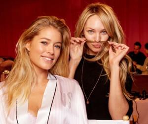 Victoria's Secret, candice swanepoel, and Doutzen Kroes image