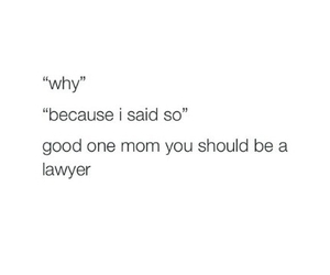 funny, mom, and lawyer image