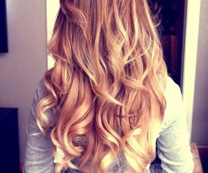 <3, blonde, and girl image