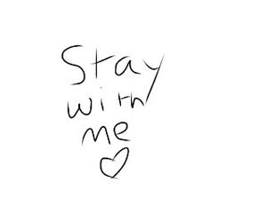love, stay, and me image