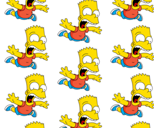 bart, the simpsons, and wallpaper image