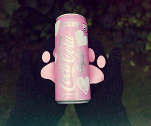 barbie, cat, and coca cola image