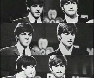 john, paul, and the beatles image