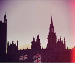 london, england, and flag image
