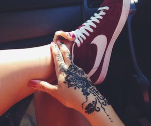 henna, indi, and indian image