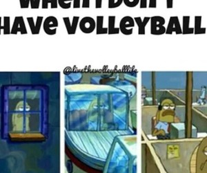 boring, life, and volleyball image